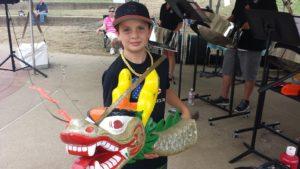 Dragon Boat Wheeling - Dragon